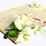 Handwritten poetry book