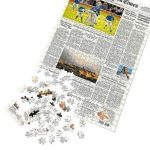 New York Times custom front page puzzles