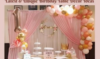 Latest & Unique Birthday Table Decor Ideas