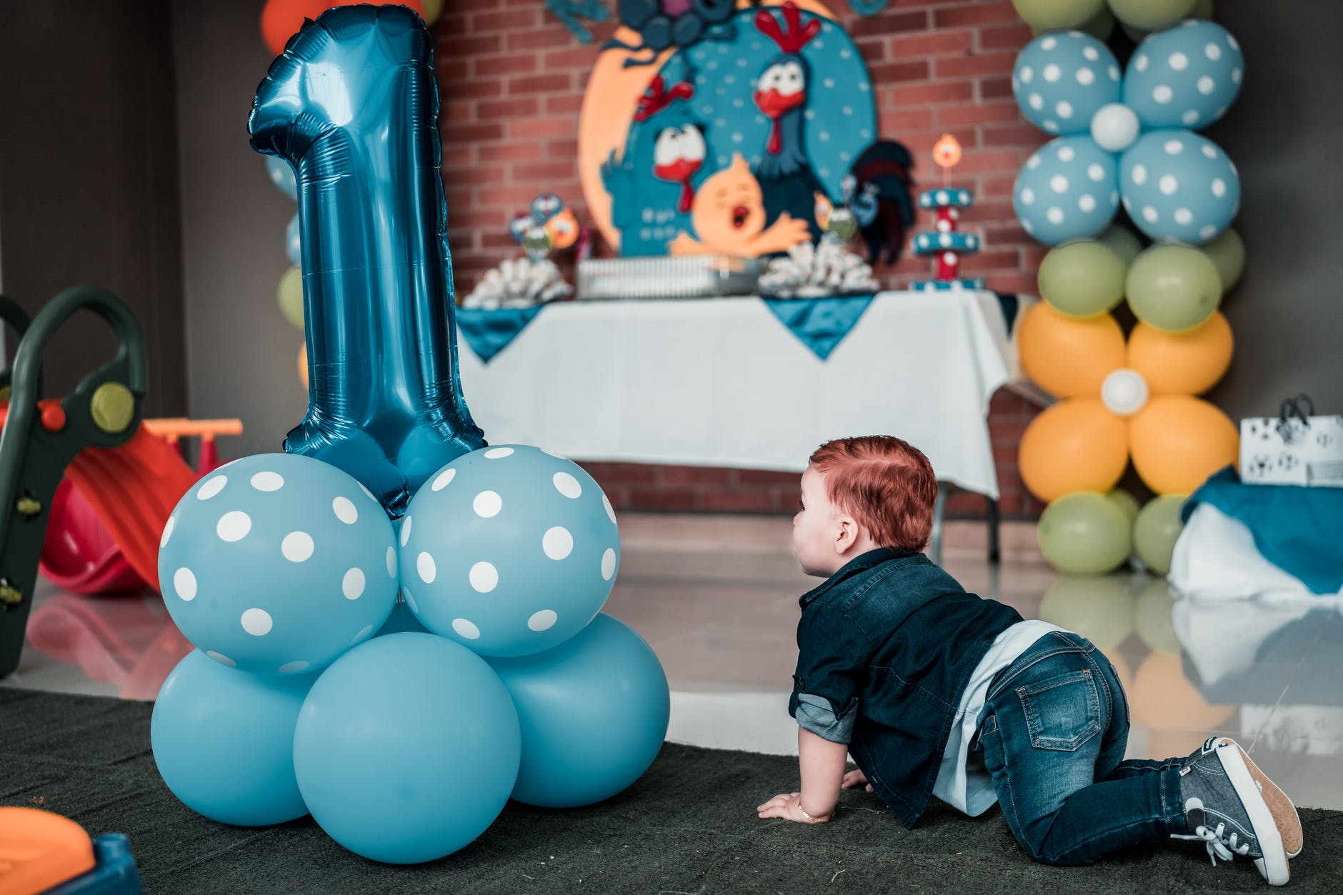 MOST POPULAR 1ST BIRTHDAY BOY PARTY THEME