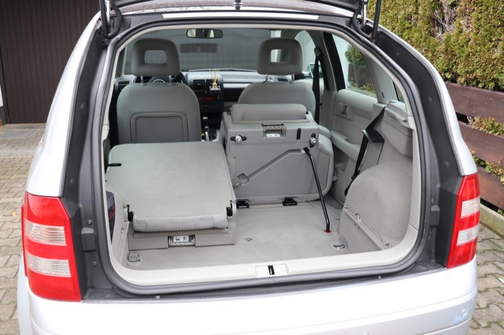 Interior and trunk size